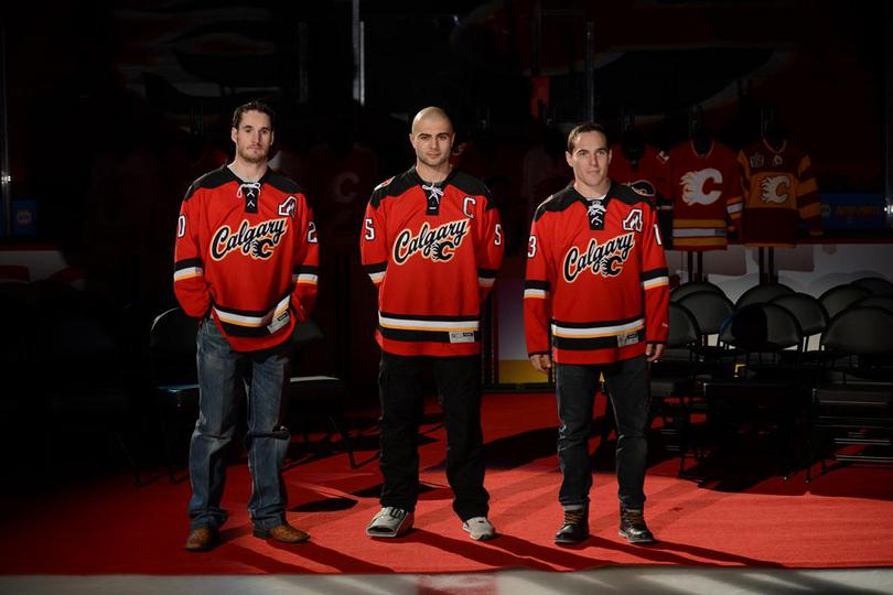 finest selection d41c2 482e3 Calgary Flames Alternate Third Jersey Leaked? | FlamesForum ...