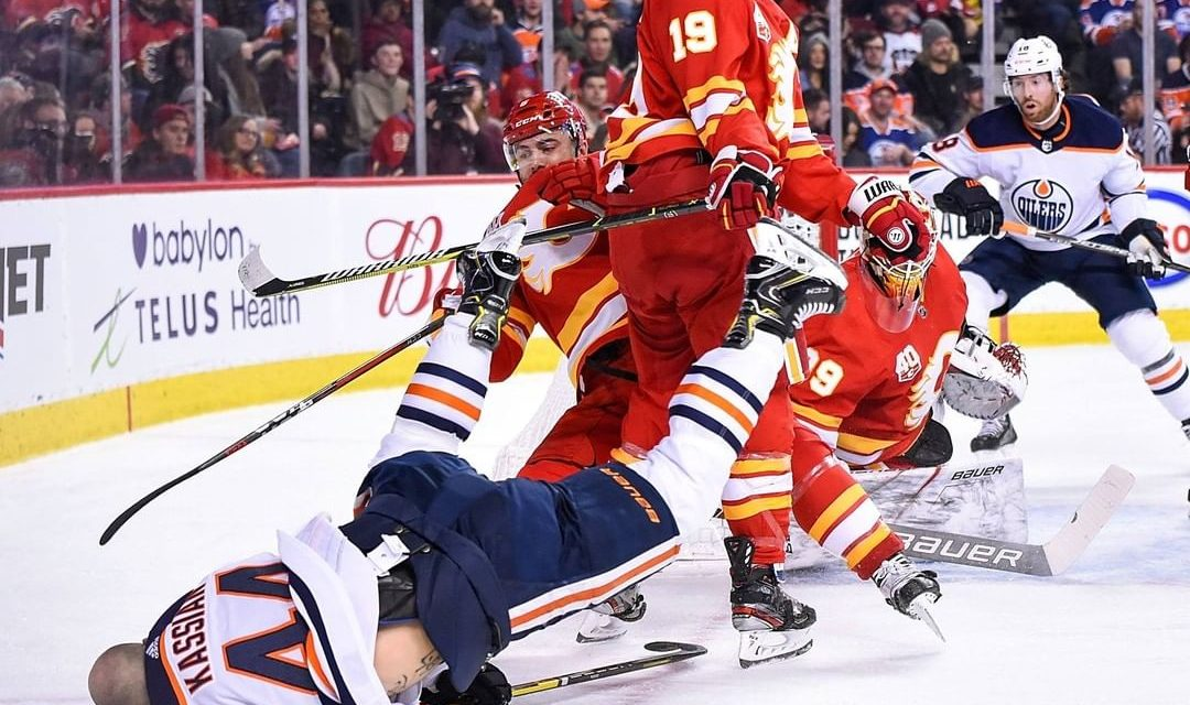 Kassian whining Non Stop. Inconsistencies Plague Flames. Andersson Signing.